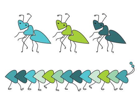 love bugs Vector