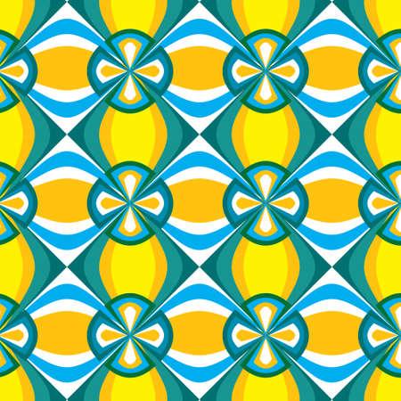 vector tile pattern design