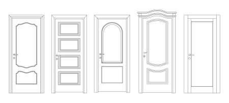 Interroom and entrance doors