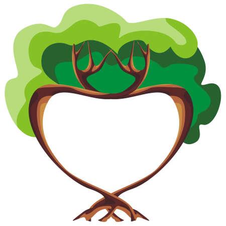 Tree of love Illustration