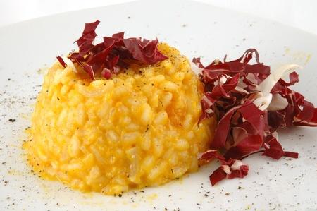 risotto: Risotto alla zucca. risotto with pumpkin