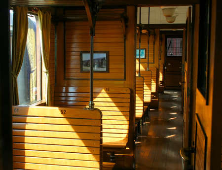 Small low-cost passenger train.