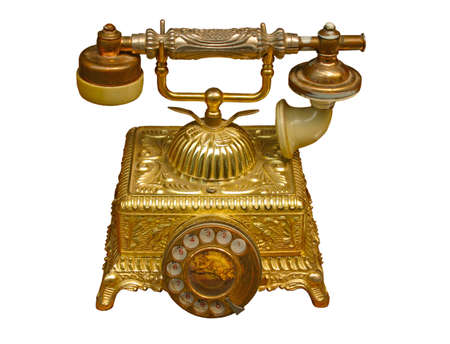 Telephone from the beginning of the twentieth century.