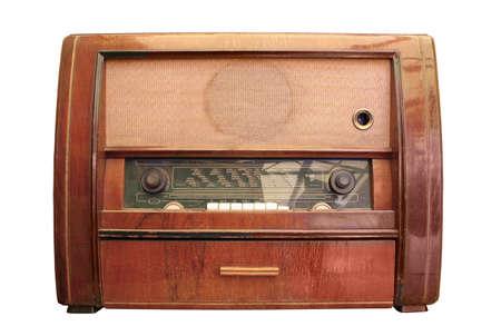 radio apparatus from 1960 photo