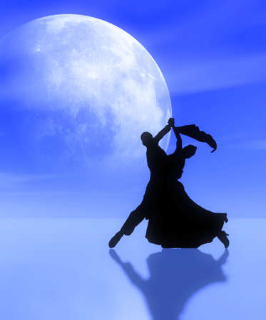 Dancing in the moonlight