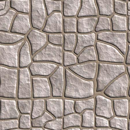 Reibungslose tileable stonewall Hintergrund.