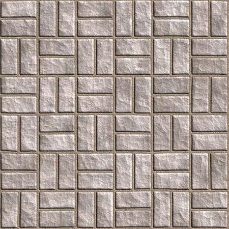 Bezproblemowa tileable stonewall tła.