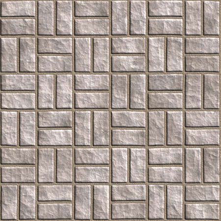 paving stones: Seamless tileable stonewall background.