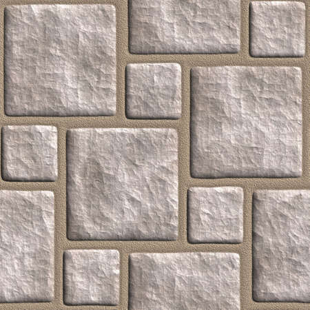 cobble: Continua piastrellabile stonewall sfondo.