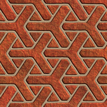panelling: seamless tileable red stone floral pattern background