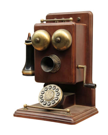 Phone sets 20 century, from the beginning.