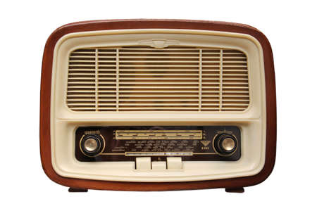 shortwave: Old radio from 1950 and the years.