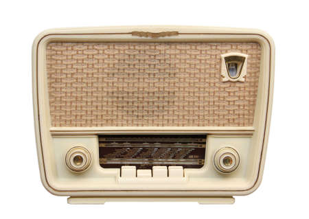 Old radio from 1950 and the years.