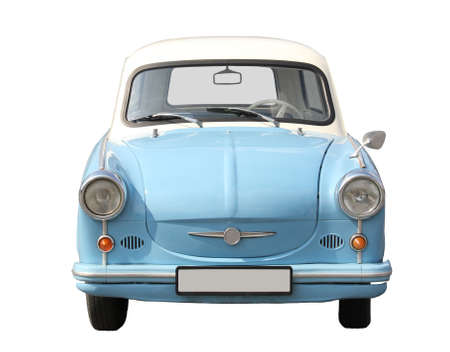 European type car from the seventies. Stock Photo - 8173800