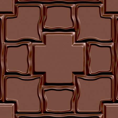 designelement: Seamless tileable decorative 3d abstract background pattern.