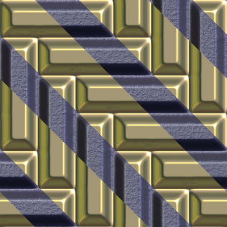 tileable: Gold,iron seamless tileable decorative background pattern. Stock Photo