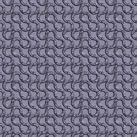 Damaged metal seamless tileable decorative background pattern.