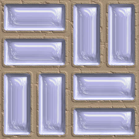 tileable: sandstone and liquid seamless tileable decorative background pattern Stock Photo