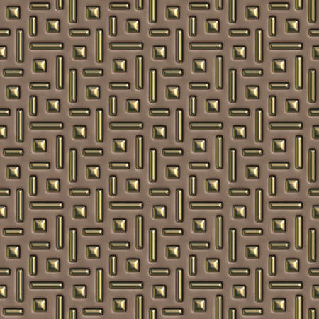 brown and gold seamless tileable decorative background pattern