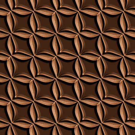 3d Nahtlose Fliesen Muster Braun Leder Hintergrund Lizenzfreie Fotos