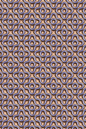 3D effect seamless background, glazier wallpaper decoration pattern.