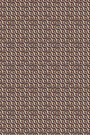 3D effect seamless background, metallic wallpaper decoration pattern. Stock fotó