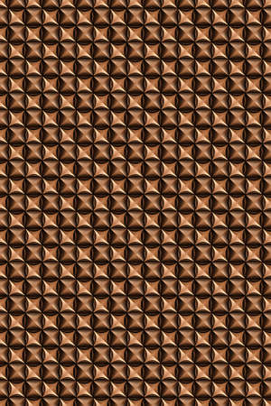 Seamless tileable decorative leather background pattern.