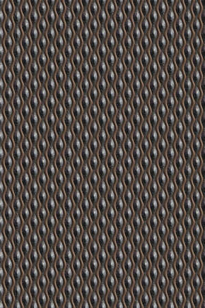 Seamless tileable decorative metal background pattern. Stock Photo