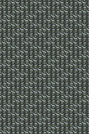 3d effect seamless background wallpaper metal textured pattern.