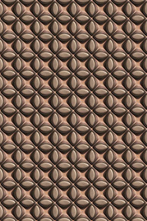 3d effect seamless background wallpaper leather textured pattern.