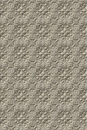 3d effect seamless background wallpaper stone tiled pattern.