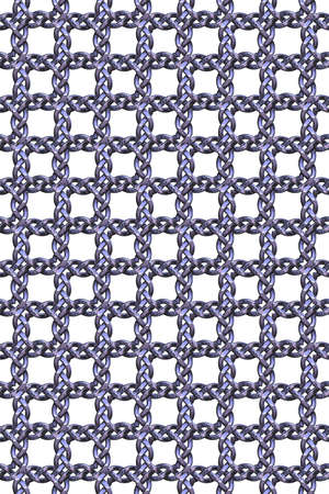 Seamless tileable metal decorative background pattern. Stock Photo