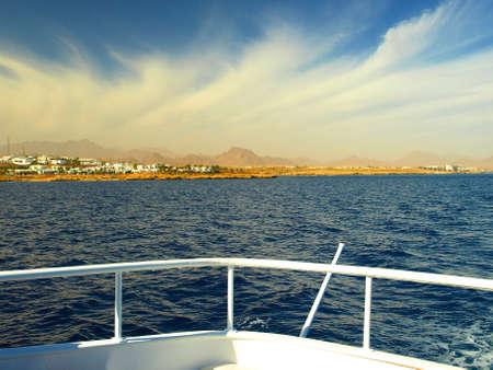 navigational light: vacation on boat