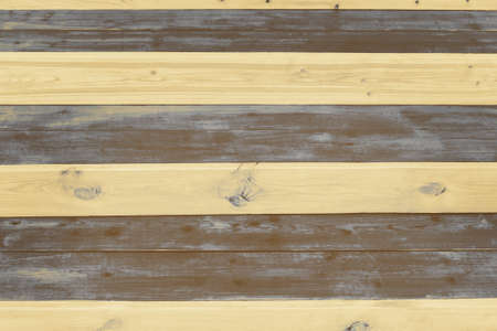 Striped surface of painted wooden boards, texture