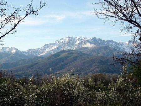 sierra: Sierra de Gredos Stock Photo