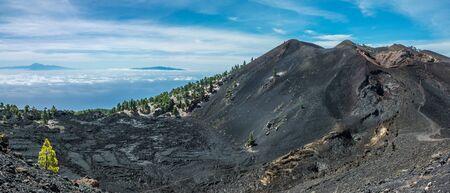 palma: Teide view from La Palma