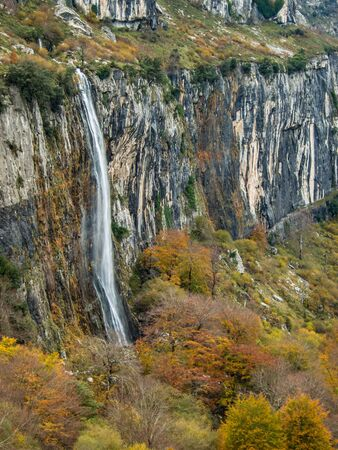 Ason river born place in Cantabria