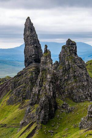 The Old Man of Storr, Skye, in Scotland