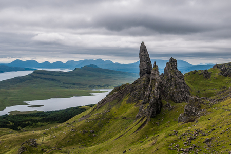 The Old Man of Storr, Skye, in Scotland