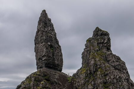 humid: The Old Man of Storr, Skye, in Scotland