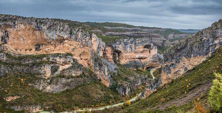 sierra: River Vero in Guara mountain range, Huesca