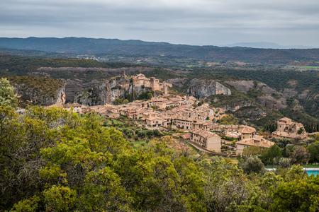 Alquezar village in Guara mountain range, Huesca