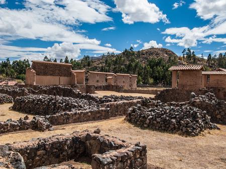 Raqchi Temple of Wiracocha site, Peru