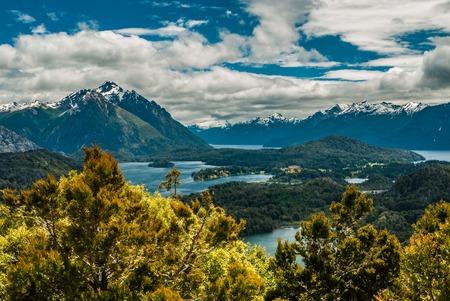 bariloche: Landscape view in Bariloche Stock Photo