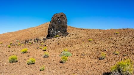 Teide volcano old eruption lava egg, Canary Islands Stock Photo