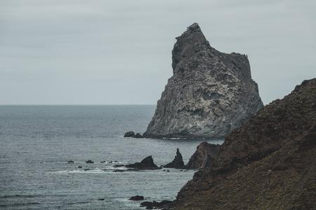 Rocks in Benijo beach, Tenerife, Canary Islands