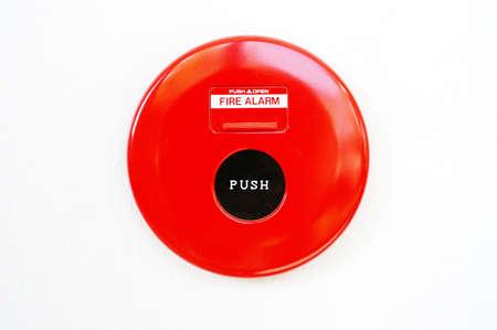 Fire Alarm Pull Box. Stock Photo - 9982238
