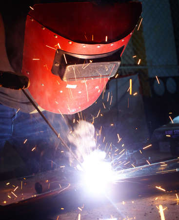 siderurgia:  trabajo soldador