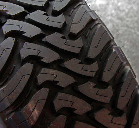 tyre tread:  Tyre tread close up                 Stock Photo