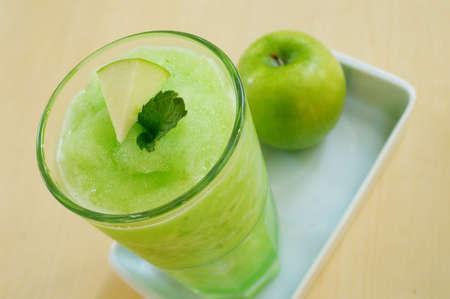 fruit smoothie.